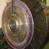 ROTOR INTERNAL COMBUSTION TURBINE